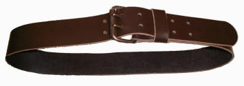 "Ceinture 2"" cuir astro double a 2 ardillons extra fort"
