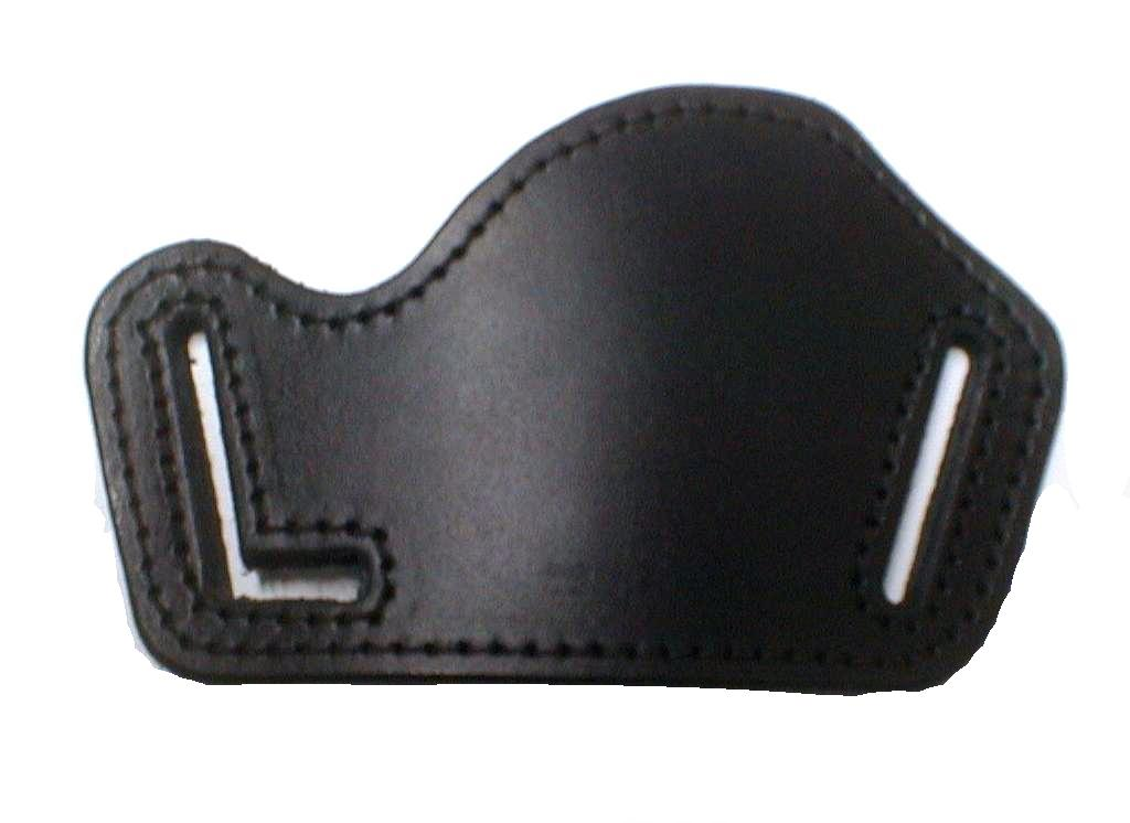 Gun holster to the belt, compact, vegetable leather